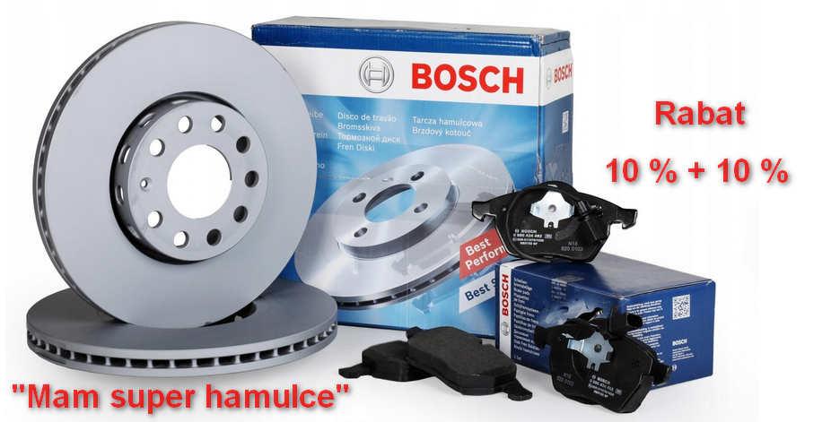 Mega Promocja na klocki i tarcze hamulcowe Bosch