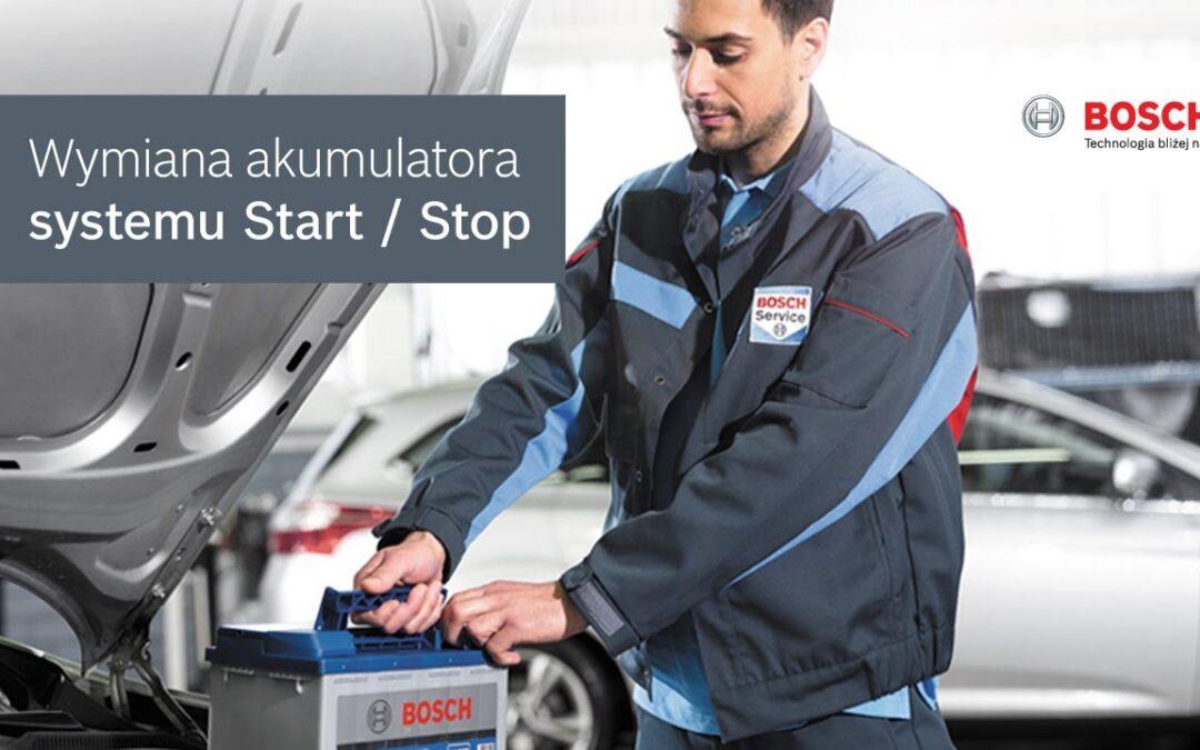 Wymiana akumulatora Start/Stop Mrągowo